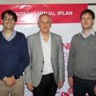 Ezequiel Archenti, Hernán Arcidiácono y Pablo Luna, de IPLAN.